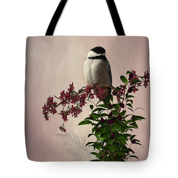 The Chickadee Tote Bag