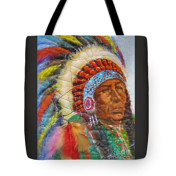 The Chief Tote Bag by Mohamed Hirji