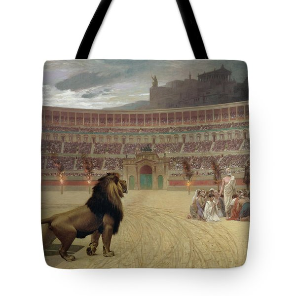 The Christian Martyrs Last Prayer Tote Bag