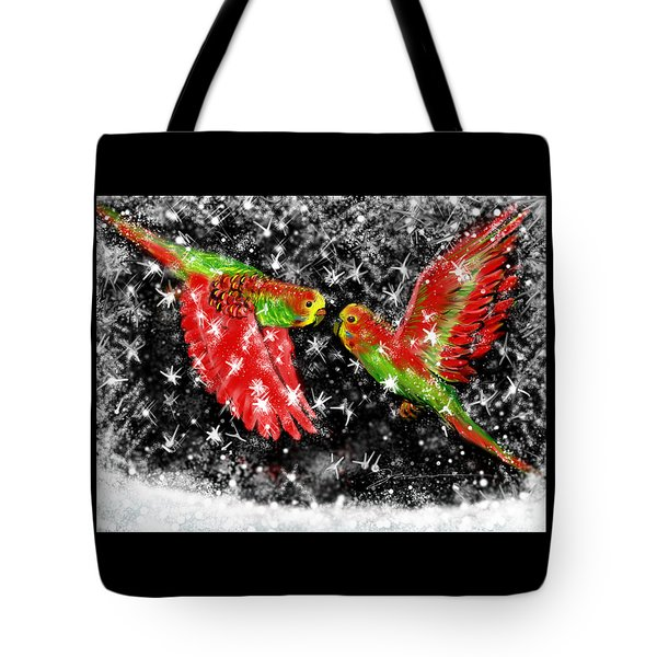 The Christmas Keets Tote Bag by Jean Pacheco Ravinski