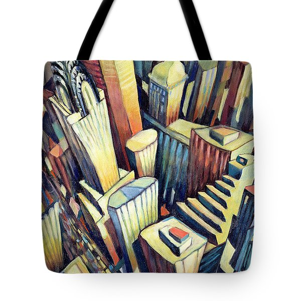 The Chrysler Building Tote Bag by Charlotte Johnson Wahl