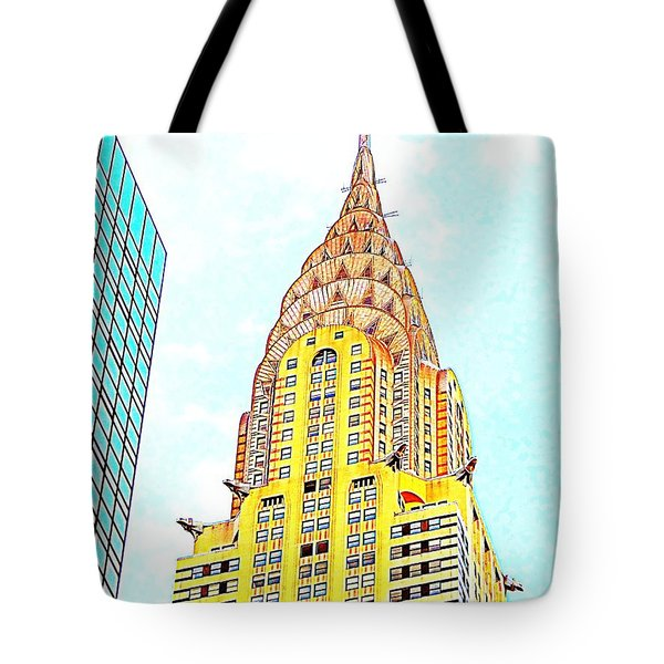 The Chrysler Building Tote Bag by Ed Weidman