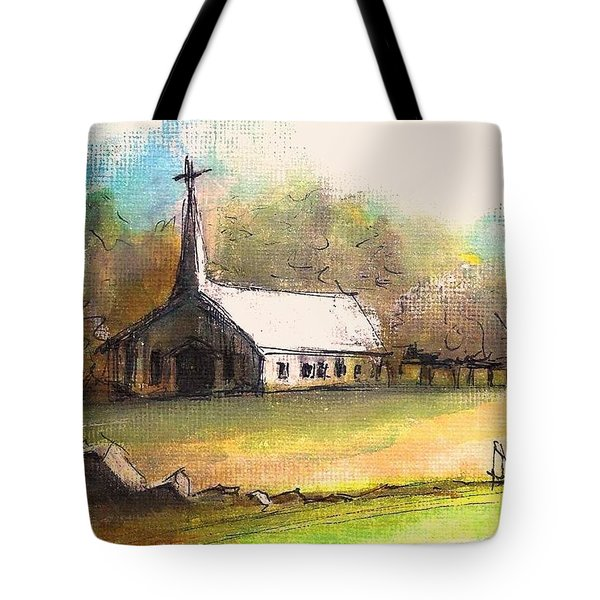 The Church Tote Bag