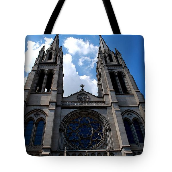 Tote Bag featuring the photograph The Church by Matt Harang