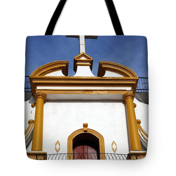 The Church Of Guadalupe 3 Tote Bag