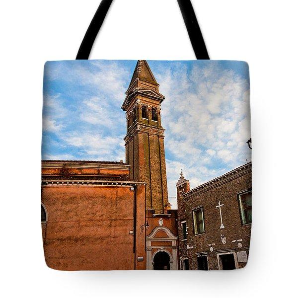 The Church Of Saint Martin Tote Bag