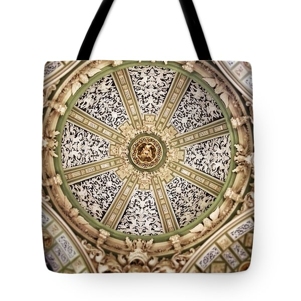 The Church San Juan Del Hospital Of The Orden Opus Dei In Valencia. Tote Bag by For Ninety One Days