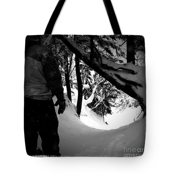 The Chute Tote Bag by James Aiken