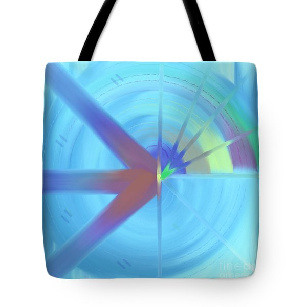 The Circular Abstract-2 Tote Bag