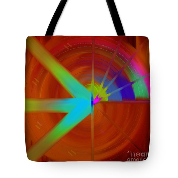 The Circular Abstract-3 Tote Bag