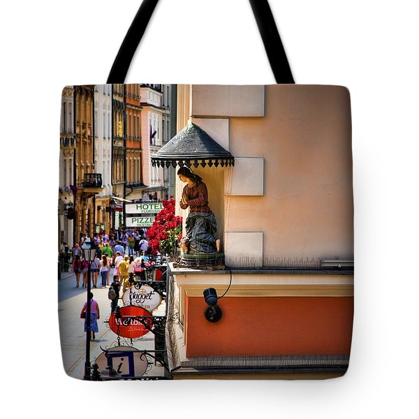 The City Can See You Tote Bag by Joanna Madloch