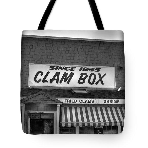 The Clam Box Tote Bag by Joann Vitali