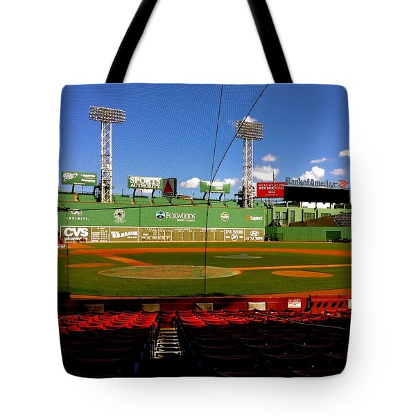 The Classic  Fenway Park Tote Bag