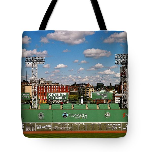 The Classic II Fenway Park Collection  Tote Bag