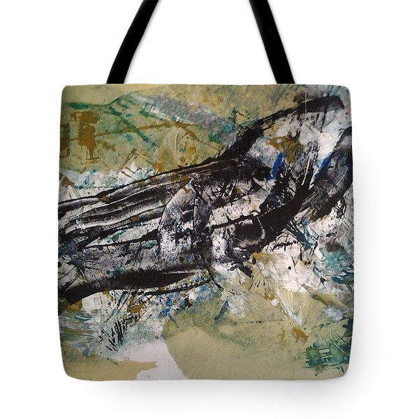 Tote Bag featuring the painting the Claw by Lesley Fletcher