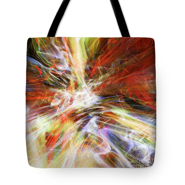 Tote Bag featuring the digital art The Cleansing by Margie Chapman