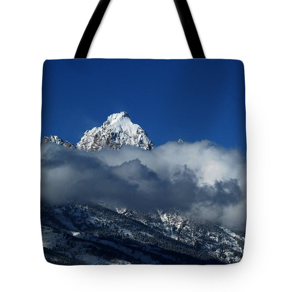 Tote Bag featuring the photograph The Clearing Storm by Raymond Salani III