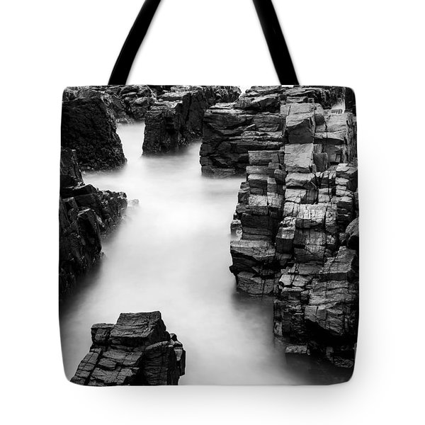 Tote Bag featuring the photograph The Cliffs by Gunnar Orn Arnason