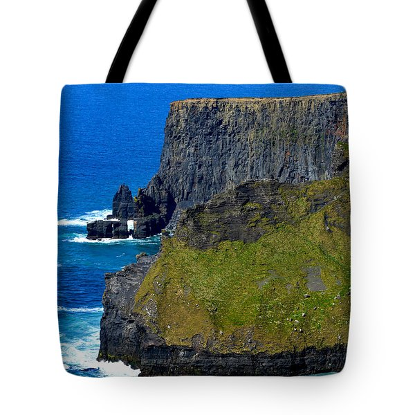 The Cliffs Of Moher In Ireland Tote Bag