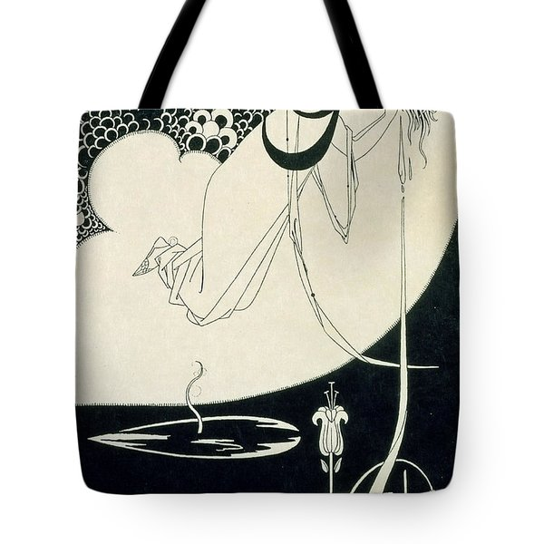 The Climax Tote Bag by Aubrey Beardsley