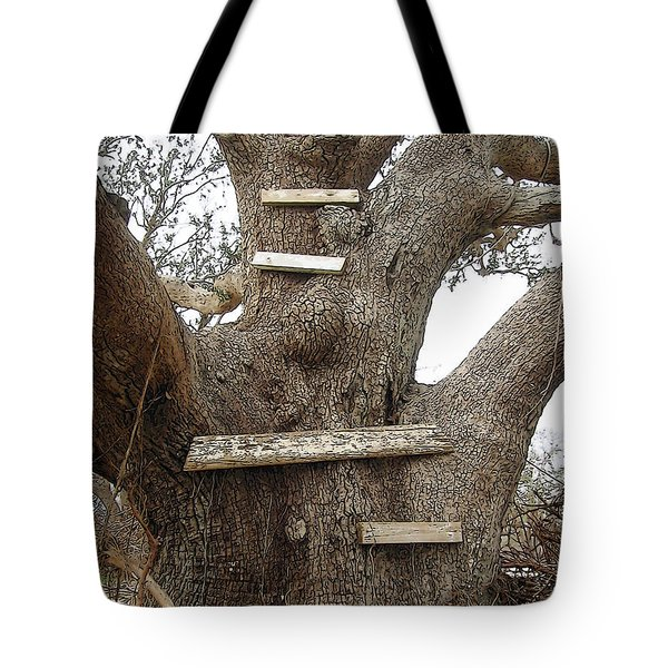 The Climbing Tree - Hurricane Katrina Survivor Tote Bag