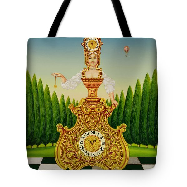 The Clockmakers Wife Tote Bag