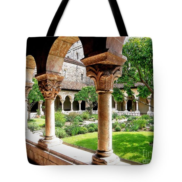 The Cloisters Tote Bag by Sarah Loft