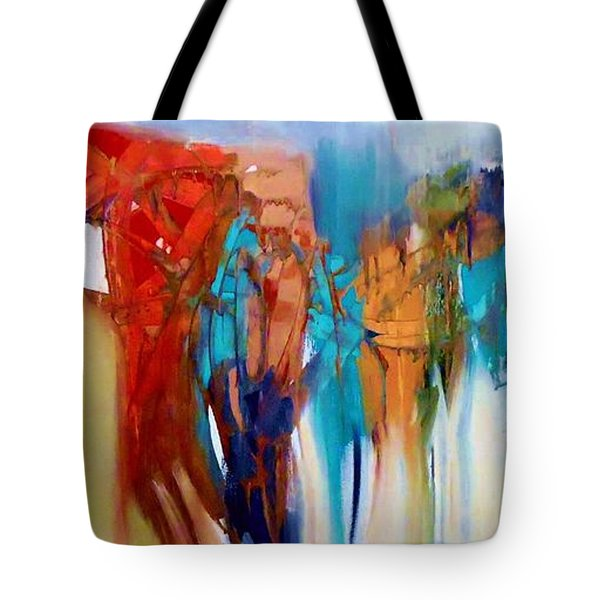 The Closet Tote Bag by Lisa Kaiser