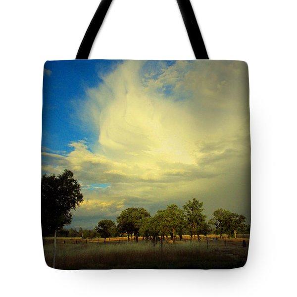 The Cloud Tote Bag by Joyce Dickens