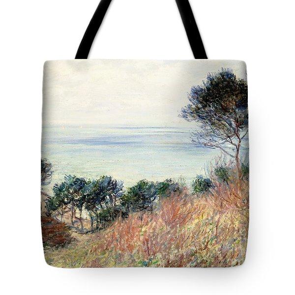 The Coast Of Varengeville Tote Bag