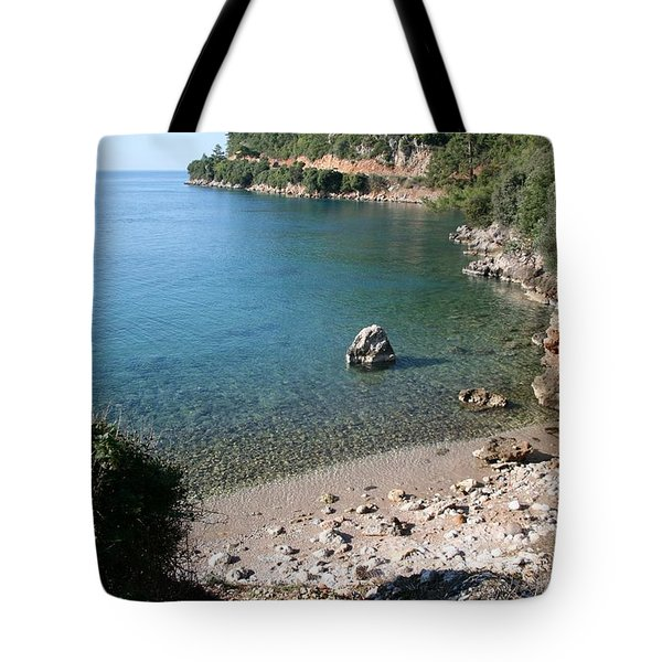 Tote Bag featuring the photograph The Coast To Oren  by Tracey Harrington-Simpson
