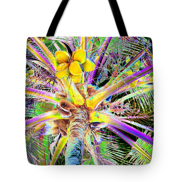 The Coconut Tree Tote Bag