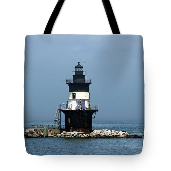 The Coffee Pot Lighthouse Tote Bag by Christiane Schulze Art And Photography
