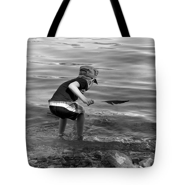 Tote Bag featuring the photograph  The Collector by Debbie Oppermann