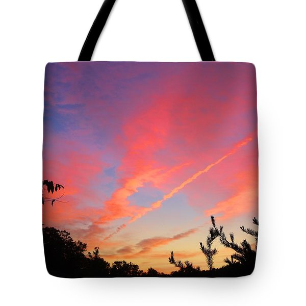 Tote Bag featuring the photograph The Color Gets Good by Kathryn Meyer