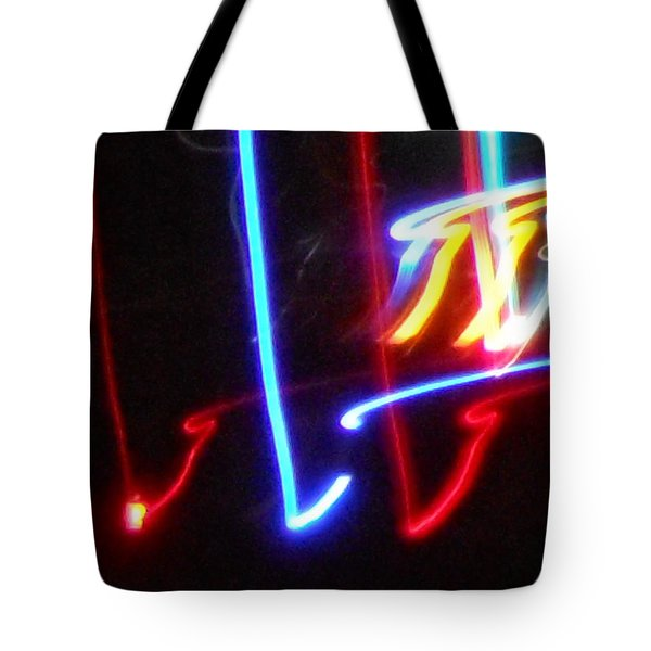 The Color Of Dance Tote Bag