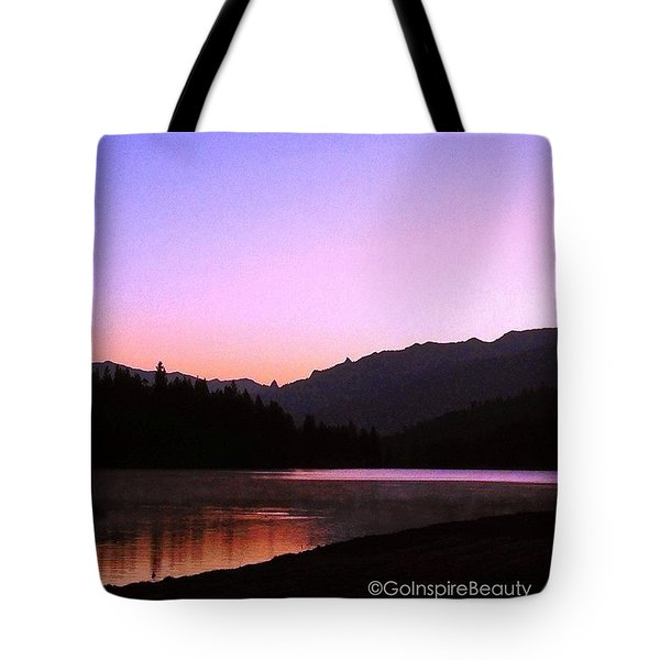 The Color Of Dawn Tote Bag