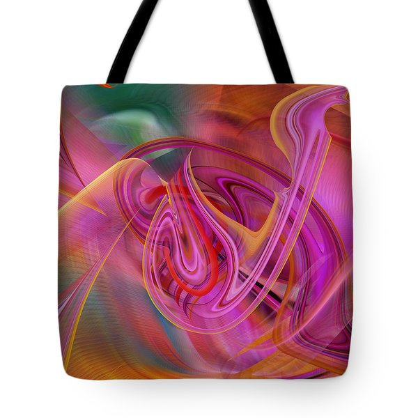 The Color Of Flight Tote Bag by rd Erickson