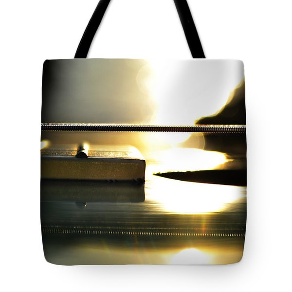 The Color Of Music Tote Bag by Laura Fasulo