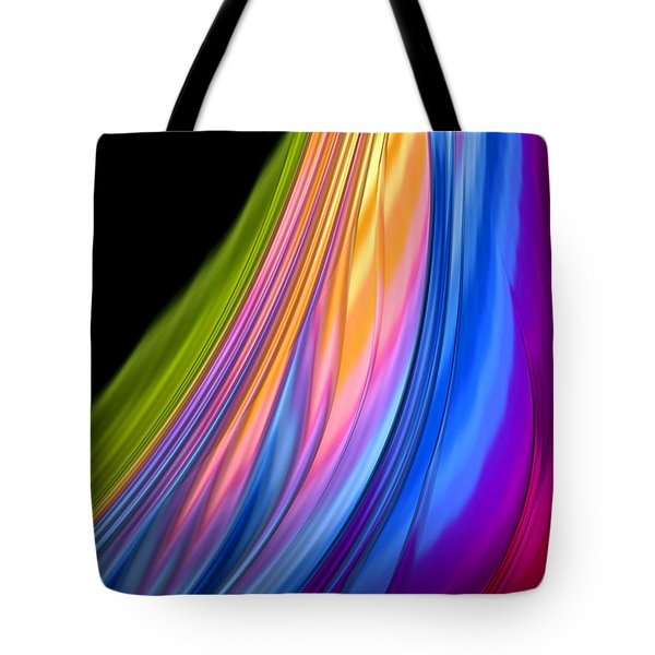 The Color Of Rain Tote Bag