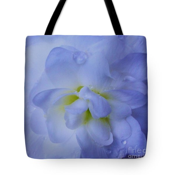 The Color Of Rain Tote Bag