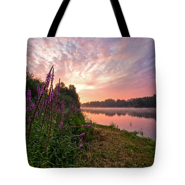 The Color Purple Tote Bag by Davorin Mance