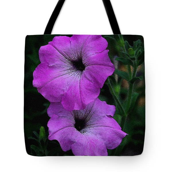 Tote Bag featuring the photograph The Color Purple   by James C Thomas