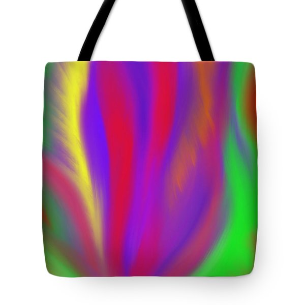 The Colors' Creation Tote Bag by Daina White
