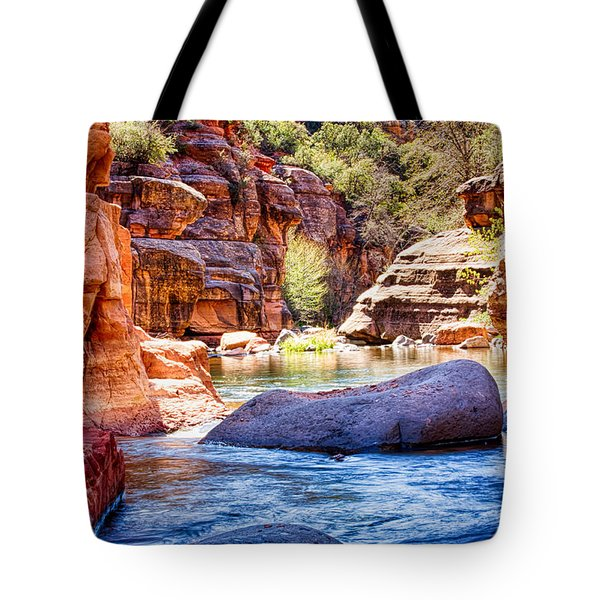 The Colors Of Oak Creek Tote Bag