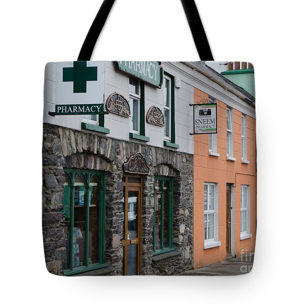 The Colors Of Sneem Tote Bag by Mary Carol Story