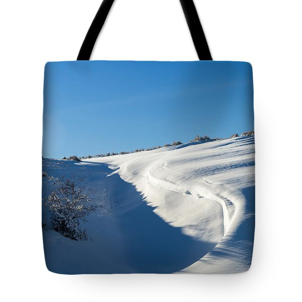 The Colors Of Snow Tote Bag