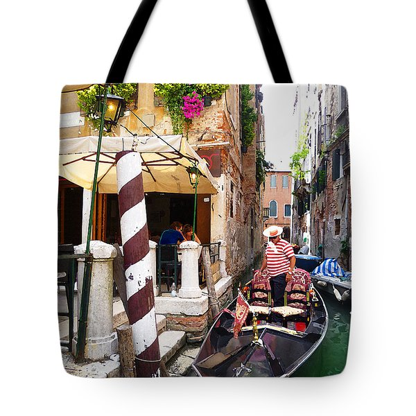 The Colors Of Venice Tote Bag