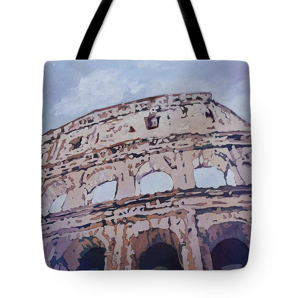 The Colossus  Tote Bag by Jenny Armitage
