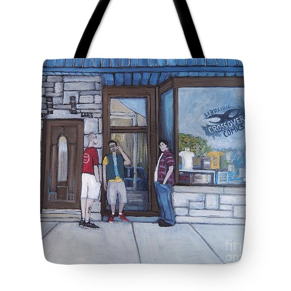 The Comic Book Shop Tote Bag